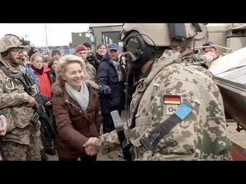 Germany's Defence Minister arrives in Afghanistan