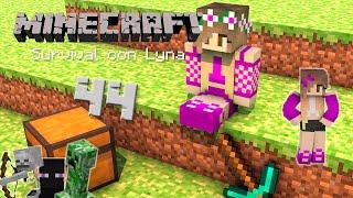 ¡Necesito mis malditos diamantes! | Minecraft: Survival con Lyna #44