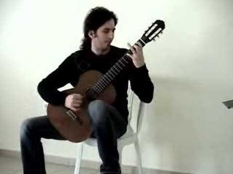 Tsimponis dimitris plays Tarantos - Leo Brouwer