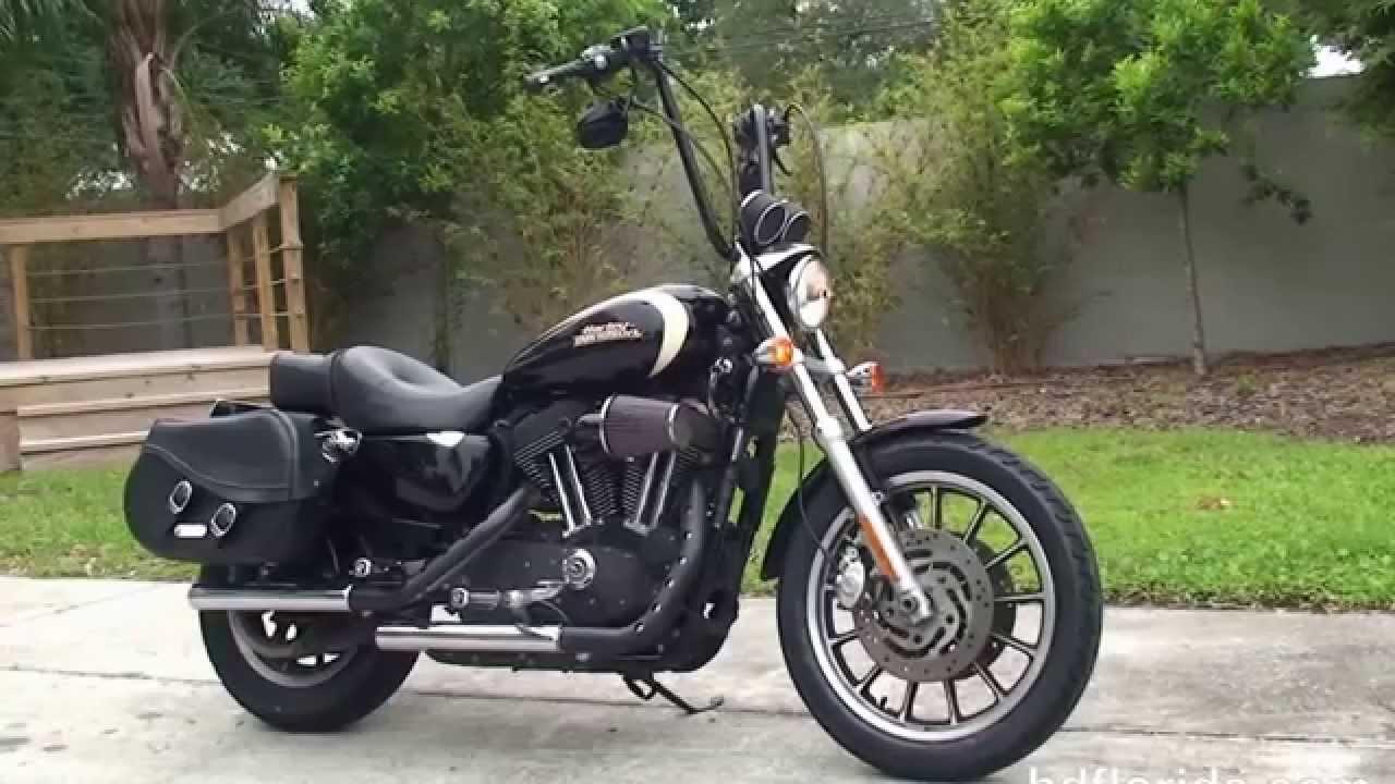 used 2008 harley davidson sportster roadster motorcycles for sale lakeland fl youtube. Black Bedroom Furniture Sets. Home Design Ideas