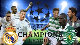MATCH REAL MADRID VS SPORTING LISBON CHAMPIONS LEAGUE 14.09.2016
