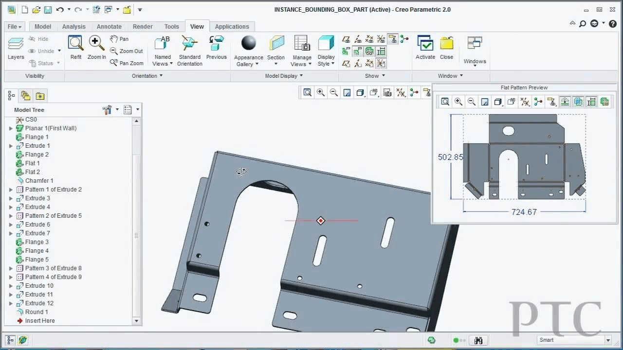 Creo 2 0 New Sheet Metal Capabilities For Creo Parametric