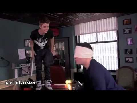 Justin Bieber's Funniest 2012 Moments Music Videos