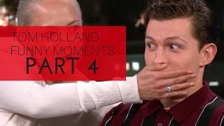 TOM HOLLAND CANT STOP HIS SPOILERS | AVENGERS: INFINITY WAR 2018