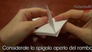 Tutorial Porta Confetti Origami (video Istruttivo)