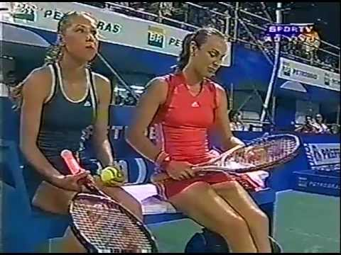 Martina Hingis and Anna Kournikova in Brazil (2005)