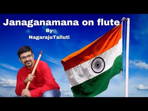 Janagana Mana by flute nagaraju