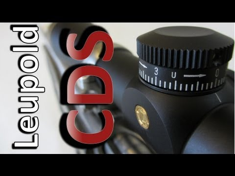 Leupold CDS Setup With or Without Custom Dial