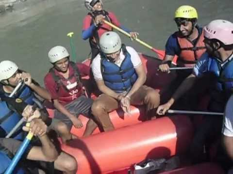 Rishikesh River Rafting By Online.boyz.......... Flikart Boyz video