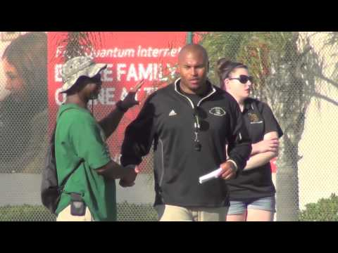 Long Beach Poly Spring Football Game