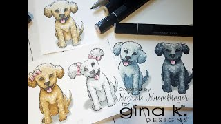 Tips for Coloring Curly Fur with Alcohol Markers