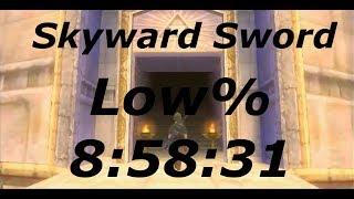 Skyward Sword Low% Speedrun in 8:58:31