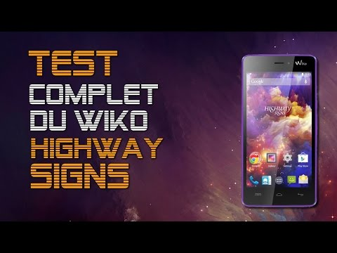 Wiko highway signs user manual