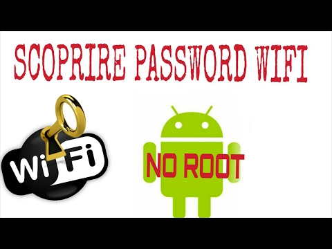 Come scoprire qualsiasi password di wifi ALICE e FASTWEB. no root - By Nikko