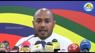 Military's response is not giving security for Mahinda : Duminda