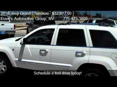 2010 Jeep Grand Cherokee Limited - for sale in Fallon, NV 89