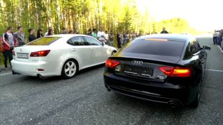 Lexus is 250 [V6] vs Audi A5 [2.0 TFSI]