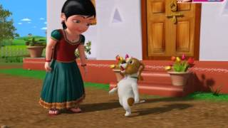 Nayi Mari Nayi Mari - Kannada Rhymes Chinnu 3D Animated