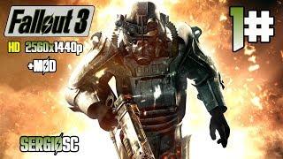 Fallout 3 Modo Muy difícil #1 No puedo esperar a Fallout 76 DIRECTO PC Ultra 1440p +MODs