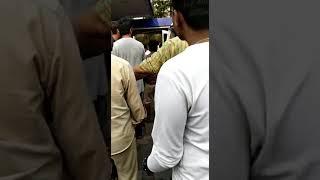 Blast in CNG AUTO Ricksha Milap Petrol Pump, Kandivali Mumbai Maharashtra India
