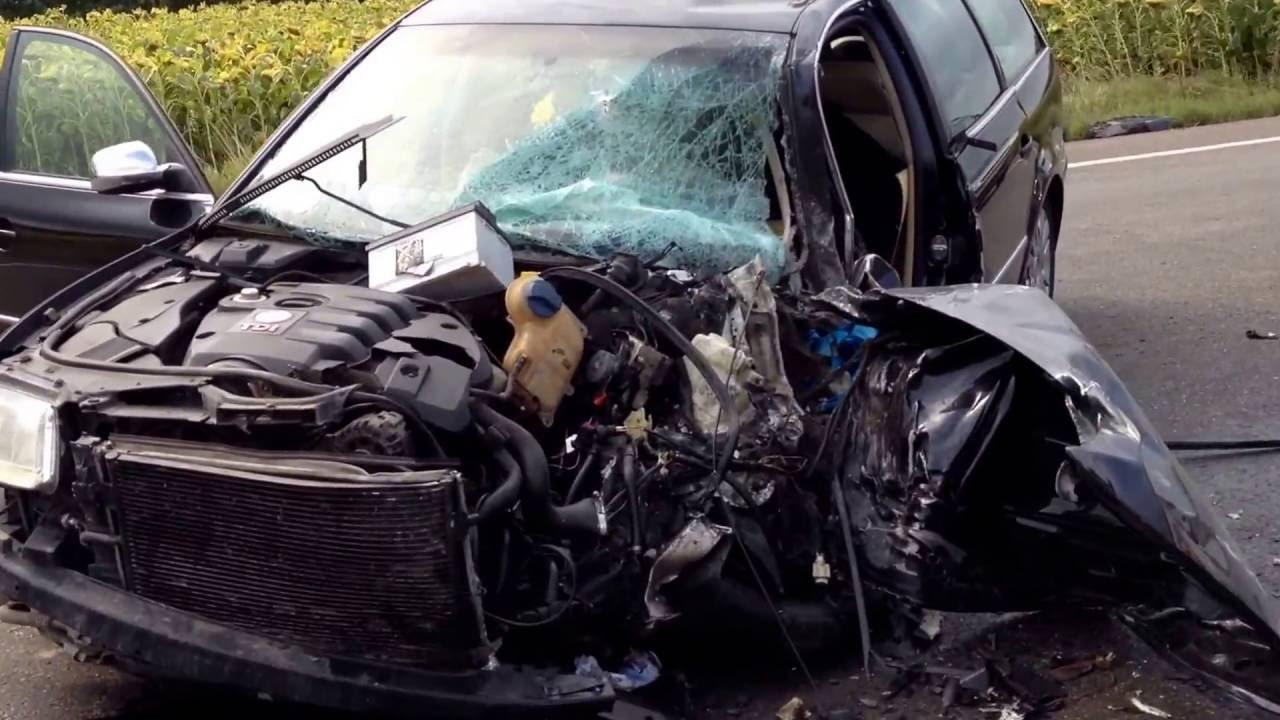 VIDEO Accident între Șcheia și Stroiești, 23 august 2016