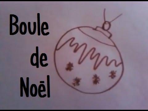 Comment je dessine une boule de noel youtube - Comment fabriquer une boule de noel ...