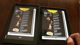 Transformer Pad TF300 VS New iPad 3 - Tablets Exposed