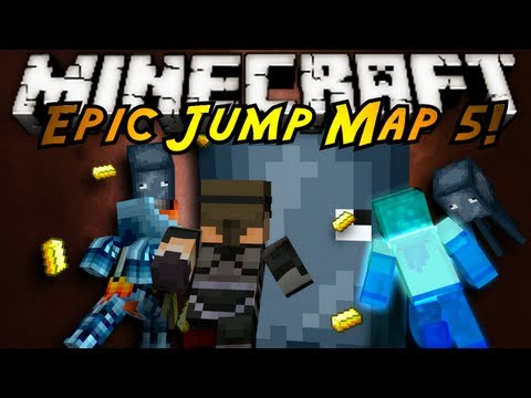Minecraft: Epic Jump Map Butter Edition Part 3!