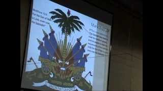 ETSWC Haitian Flag day 5-18-13 (Junon Brutus sermon on Haitian Flag) 1of2