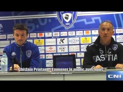 """Ghislain Printant (SC Bastia) : """"Il y aura un entraîneur sur le banc…"""""""