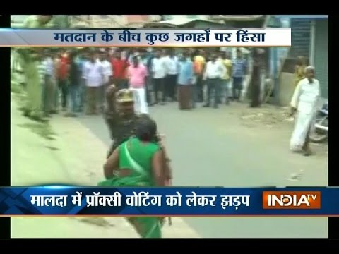 Assembly Polls: Minor violance during second phase of polling in West Bengal