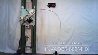 Nordic Stage INVADER 802MHX Crash test - 22 lbs (9 kgs) power challenge