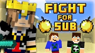 FIGHT FOR SUB : 100 streamers Minecraft dans une arène !