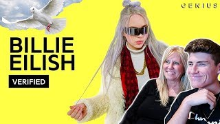 "MOM REACTS TO BILLIE EILISH - ""COPYCAT"" OFFICIAL LYRICS BREAKDOWN!"
