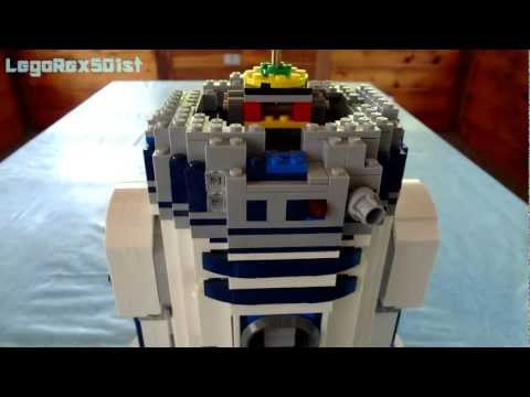 Building LEGO 10225 UCS R2-D2