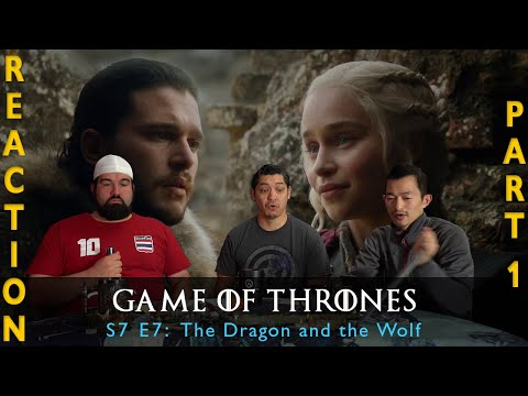 Game of Thrones Season 7 Episode 7 The Dragon and the Wolf - Reaction Part 1 #1