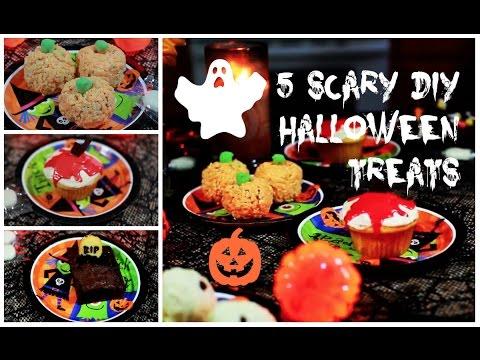 5 DIY Halloween YUMMY Spooky Treats | PERFECT BEAUTY