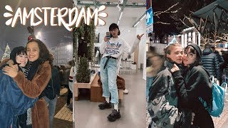 New years eve, thrift store shopping & partying in AMSTERDAM / VLOG
