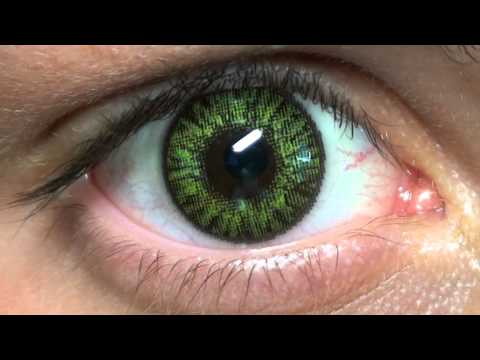 Freshlook Colorblends Gemstone Green Panos YouTube