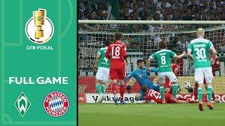 Werder Bremen vs. FC Bayern München 2-3   Full Game   DFB Cup 2018/19   Semi Final