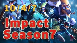 C9 Impact Ryze TOP vs Nautilus Patch 7.4