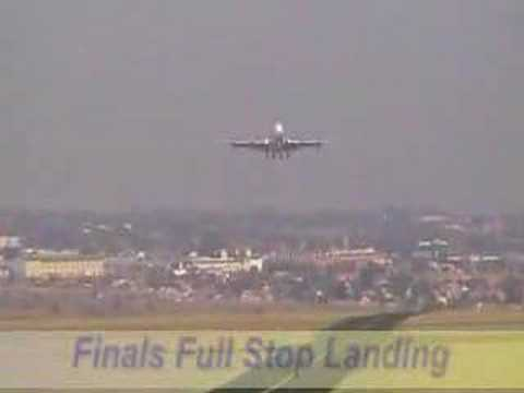 south african airlines retirement landing.