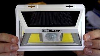 Atomic Beam SunBlast Review: As Seen on TV Solar Light