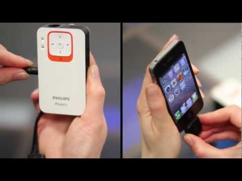 Tutorial video Philips Picopix PPX 2330 - Iphone 4S