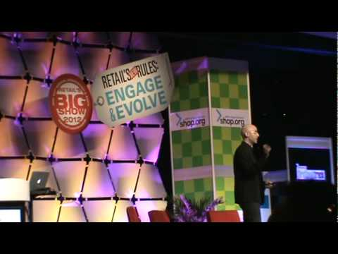 Passive vs Active Media ~ Mitch Joel at the NRF - Conference 2012