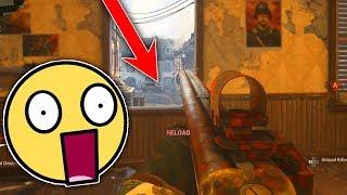 SHOTGUN SNIPER AIMBOT! (BROKEN) - COD WW2 SnD Funny Moments