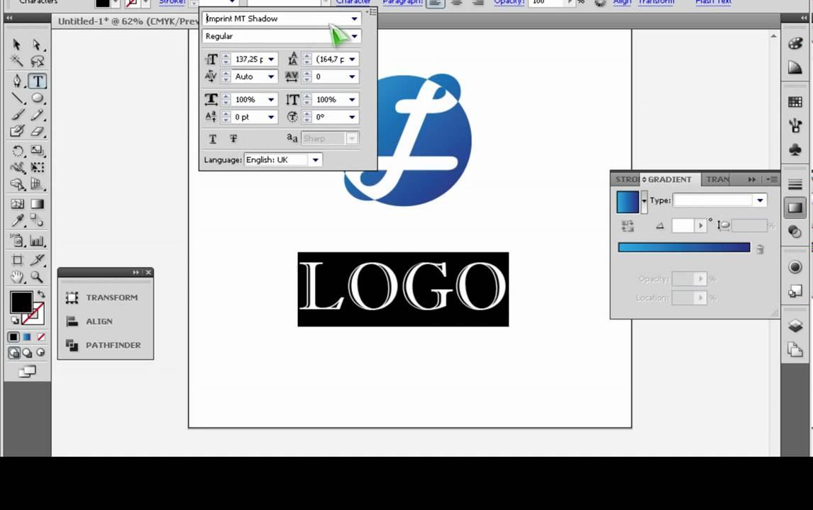Logo Using Adobe Illustrator Logo Using Illustrator Cs5
