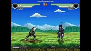 Kakashi VS Obito in M U G E N