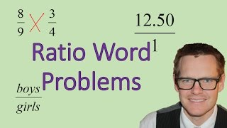 Ratio Word Problems (Simplifying Math)