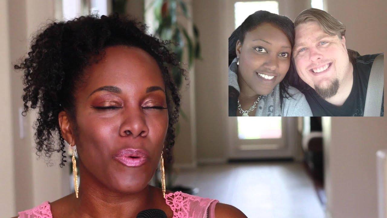 Black women dating white men images